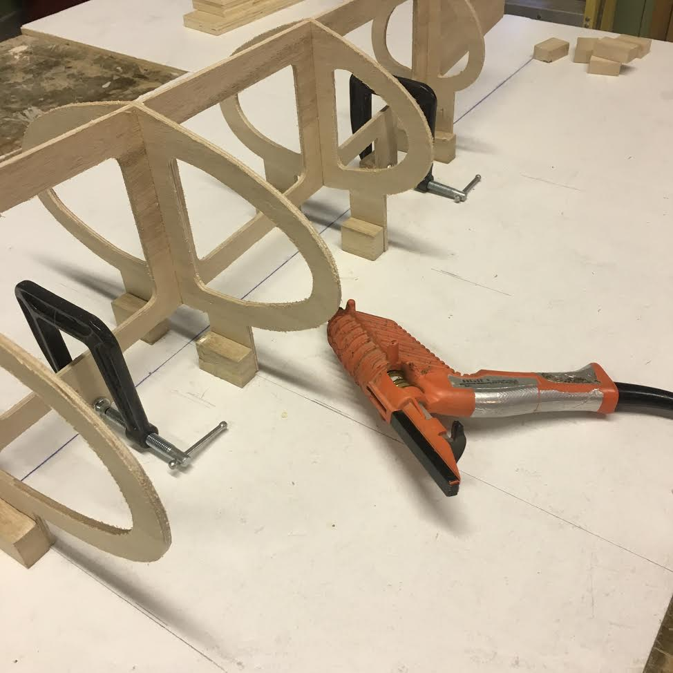Dry fit cross-frames
