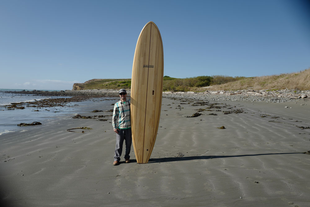 Ron Rivard with the Chetco 10′-4″ Surf SUP