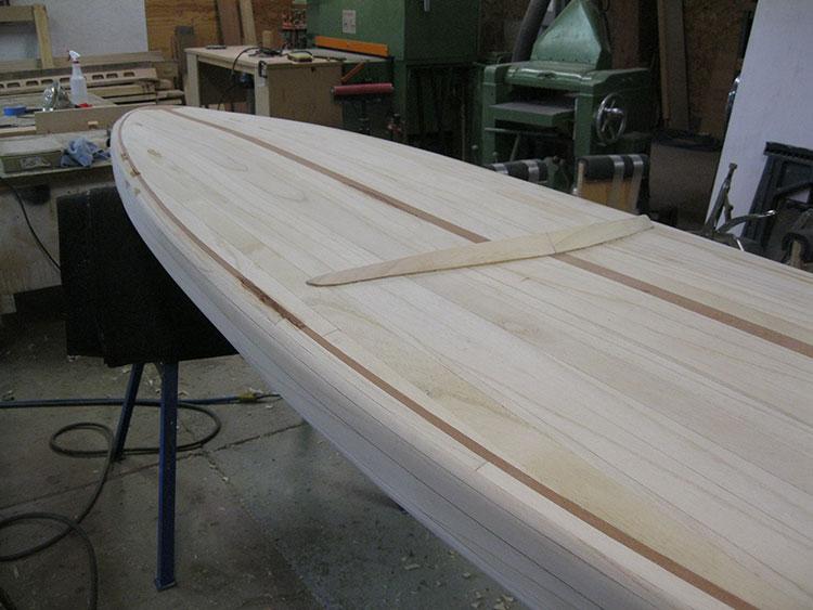 Determining strip width