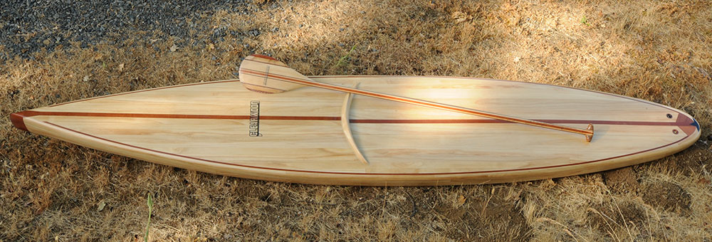 Wood Sup Paddleboard ~ Standup paddleboard kits made for the do it yourself builder