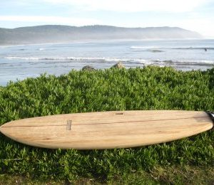 Clearwood Paddleboards SUP at the ocean